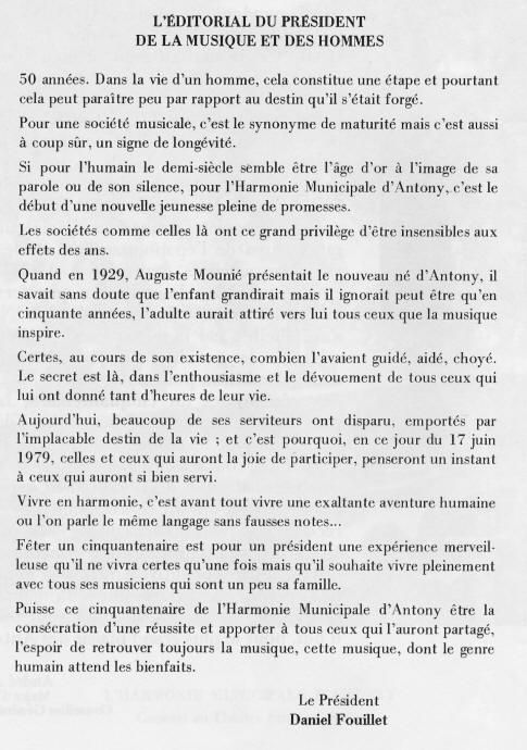 Article Daniel Fouillet