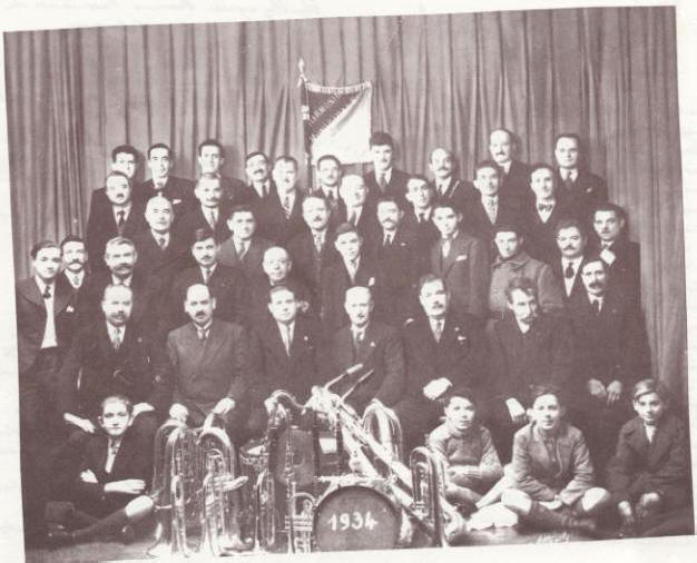 Ancienne photo de l'orchestre